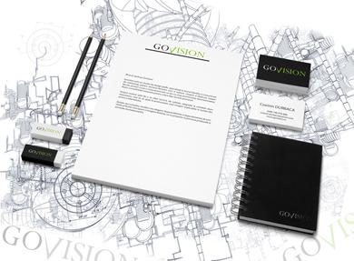 Govision, Web design, Logo